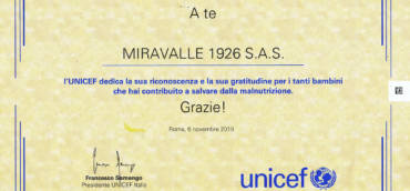 Miravalle 1926 for Unicef